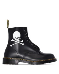 Dr. Martens X Mastermind Leather Ankle Boots