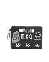 McQ Alexander McQueen Applique Clutch Bag