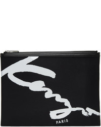 Black signature logo pouch medium 6834115