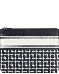 Givenchy geometric print clutch medium 332064