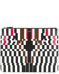 Givenchy Pixel Print Clutch