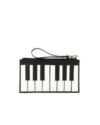 Sarah Chofakian Leather Piano Clutch