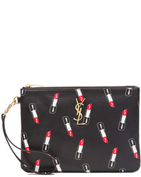 Lipstick print pouch medium 332065
