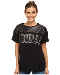 adidas Originals Ny Faux Leather Tee