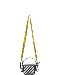 Off-White Black And White Diag Baby Flap Bag