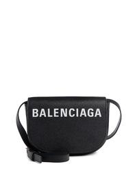 Balenciaga Extra Small Ville Calfskin Saddle Bag