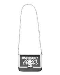 Burberry Small Painted Edge Logo Tb Crossbody Bag