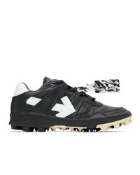 Off-White Black And White Mountain Cleats Sneakers