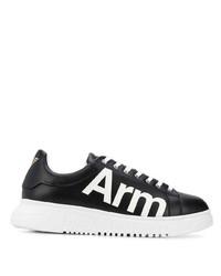 Emporio Armani Logo Print Sneakers