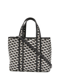 Pierre Hardy Geometric Illusion Print Tote Bag
