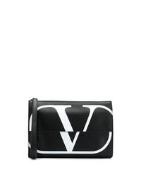 Valentino Go Logo Clutch