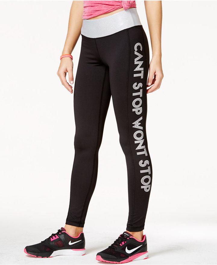 85ee31323fcbe ... White Print Leggings Material Girl Juniors Printed Leggings Only At  Macys ...