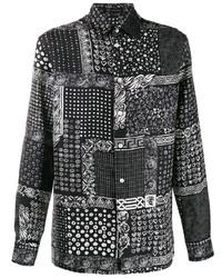 Versace Bandana Print Shirt