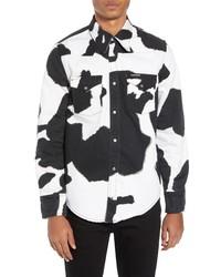 Calvin Klein Jeans Cow Print Western Shirt