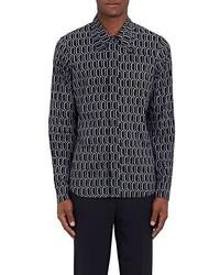 Marni Geometric Print Cotton Shirt