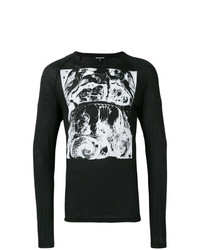 Ann Demeulemeester Abstract Print T Shirt