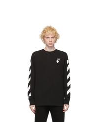 Off-White Black Agreet Long Sleeve T Shirt