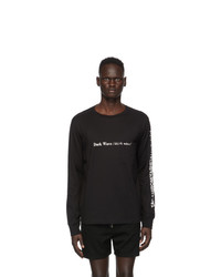 TAKAHIROMIYASHITA TheSoloist. Black Dark Wave Long Sleeve T Shirt