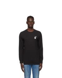 Off-White Black Pascal Arrows Long Sleeve T Shirt