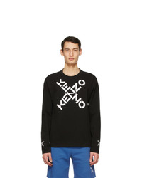 Kenzo Black Sport Long Sleeve T Shirt
