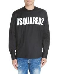 DSQUARED2 Poplin Long Sleeve Shirt