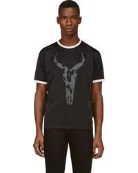Black sport mesh owen t shirt medium 121348