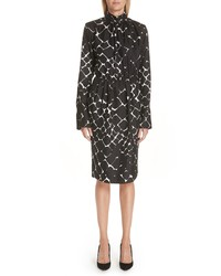 Marc Jacobs Boulder Print Silk Dress
