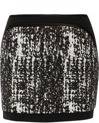 Diane von Furstenberg Chloette Printed Crepe Mini Skirt