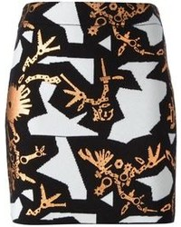 Kenzo Monster Graphics Skirt