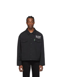 Off-White Black Universal Key Jacket