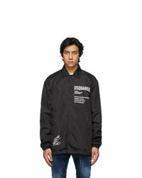 DSQUARED2 Black Zlatan Ibrahimovi Edition Icon Poster Jacket