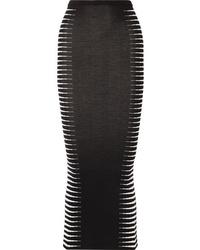 Haider Ackermann Wool And Jacquard Maxi Skirt