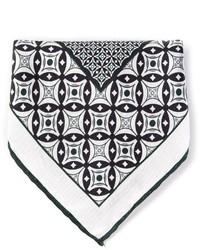 Canali printed pocket square medium 313390