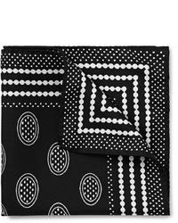Dolce & Gabbana Printed Silk Pocket Square
