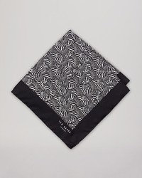 Ted Baker Zeezoo Zebra Pocket Square