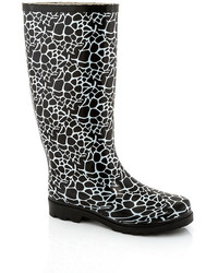 Godiva Printed Rain Boot