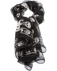 Alexander mcqueen skull scarf medium 120963