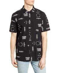 Vans Aldrich Short Sleeve Button Up Shirt