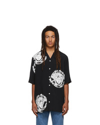 Versace Black All Over Medusa Shirt