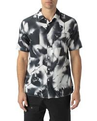 Zanerobe Mist Short Sleeve Button Up Shirt