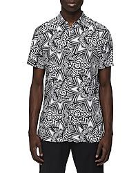 Selected Homme Vega Slim Fit Short Sleeve Button Up Shirt