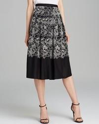 Skirt embroidered cutout eyelet medium 79001