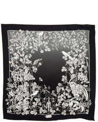 Gucci Digital Print Silk Scarf