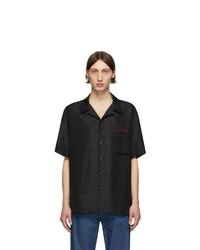Valentino Black And Red Moon Shirt