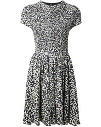 Proenza Schouler Printed Skater Dress