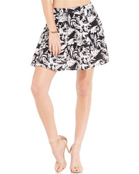 Jessica Simpson Floral Print Skater Skirt