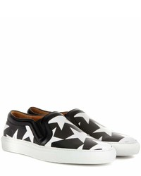 Printed leather slip on sneakers medium 451433