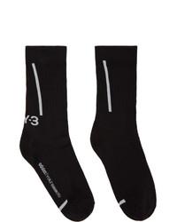 Y-3 Black Classic Crew Socks