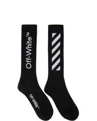 Off-White Black Diag Socks