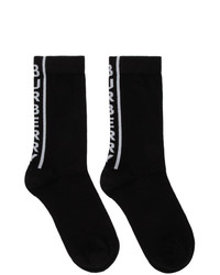 Burberry Black Logo Socks